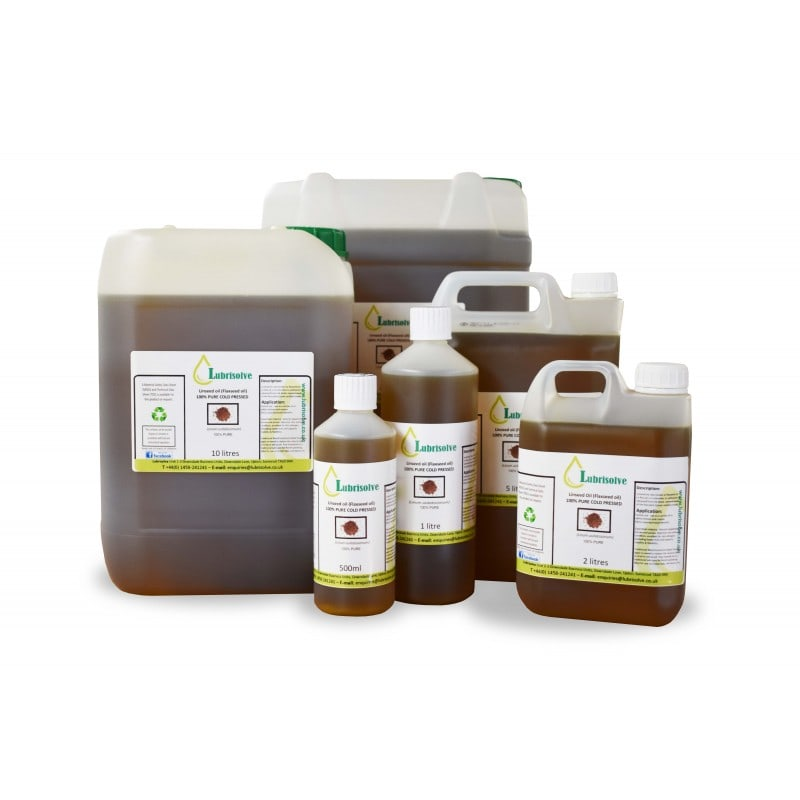 Linseed Oil 100% Pure, Cold Pressed Linseed Oil
