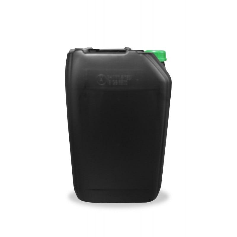 25 Litres UN Grade HDPE Jerrican and Tamper Evident (TE) Cap (60mm) - Black