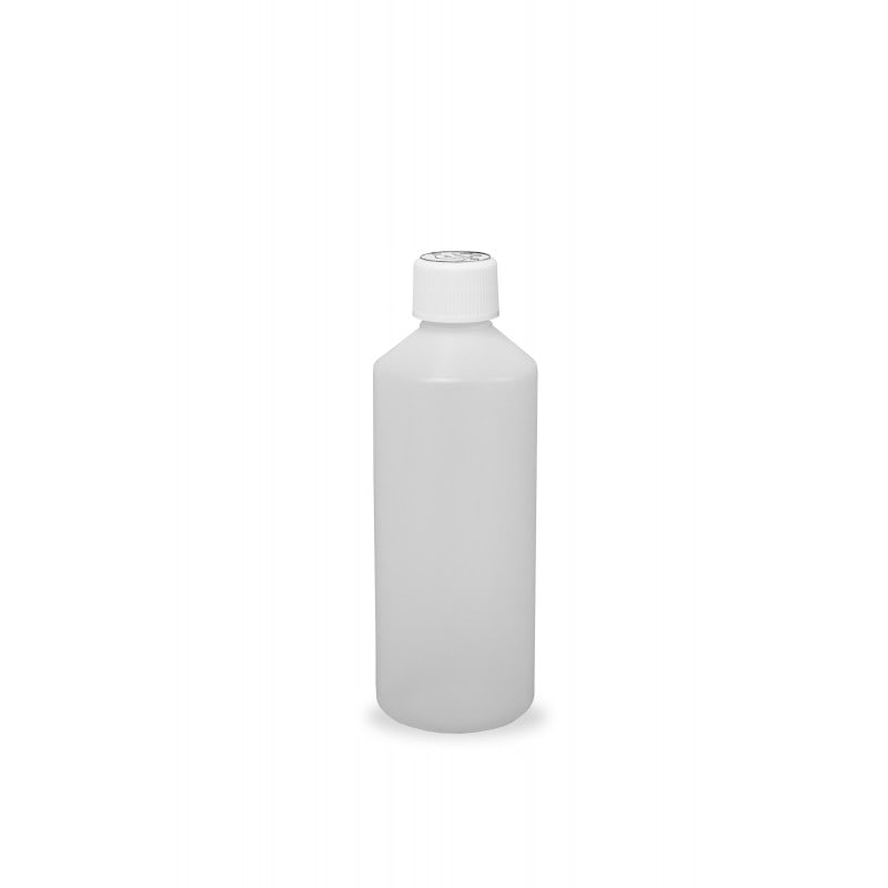 500ml HDPE Bottles and Child Proof Caps (28mm)