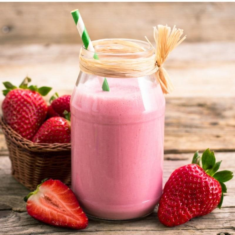 Strawberry Milkshake Bottle Blend