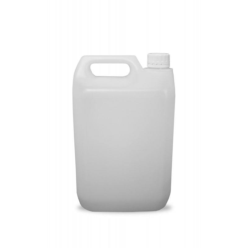 5 Litres HDPE Jerrican and Tamper Evident Cap (38mm) - Natural
