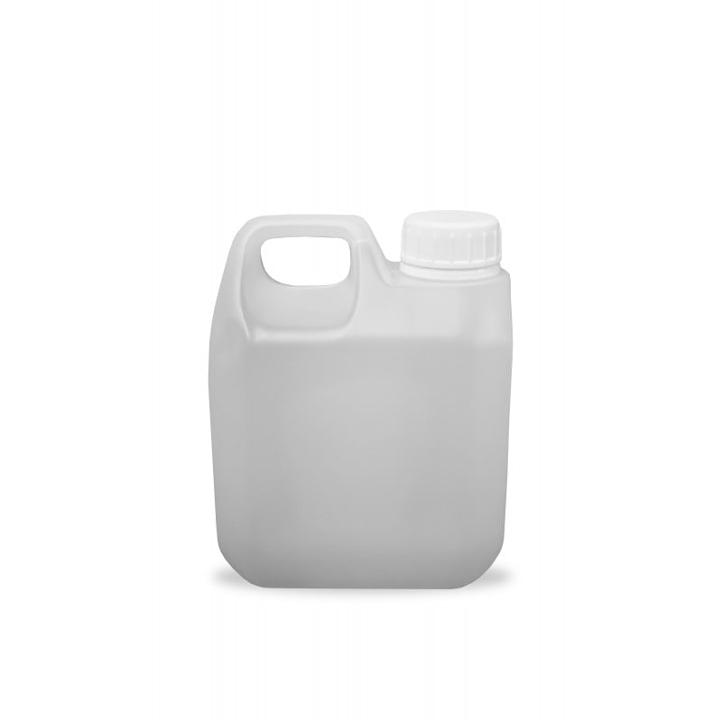1 Litre HDPE Jerrican and Tamper Evident Cap (38mm)