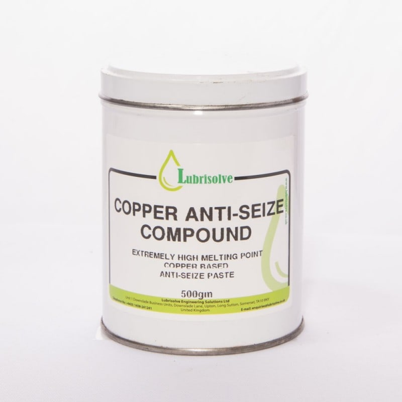 Lubrisolve Copper Anti-Seize Compound 500g