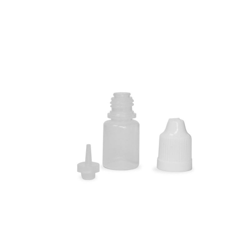 5ml Natural LDPE (squeezable) Dropper Bottle