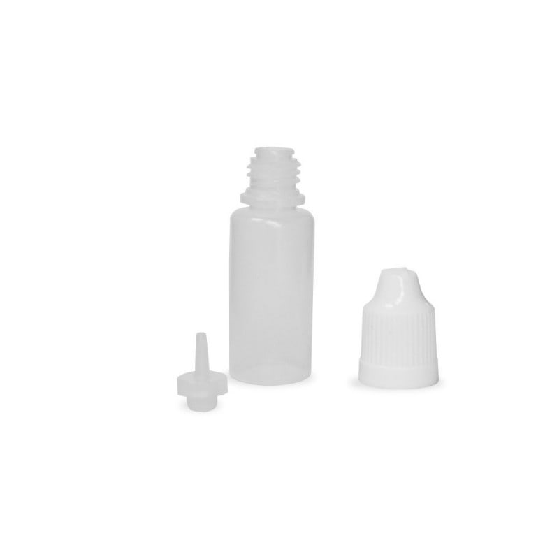 10ml Natural LDPE (squeezable) Dropper Bottle