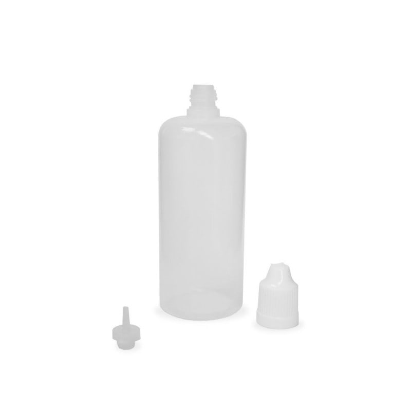 100ml Natural LDPE (squeezable) Dropper Bottle