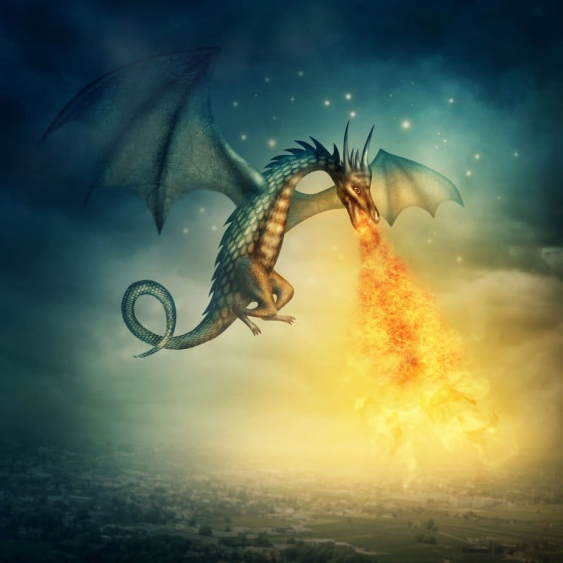 Premium Dragons Breath Flavour Concentrate