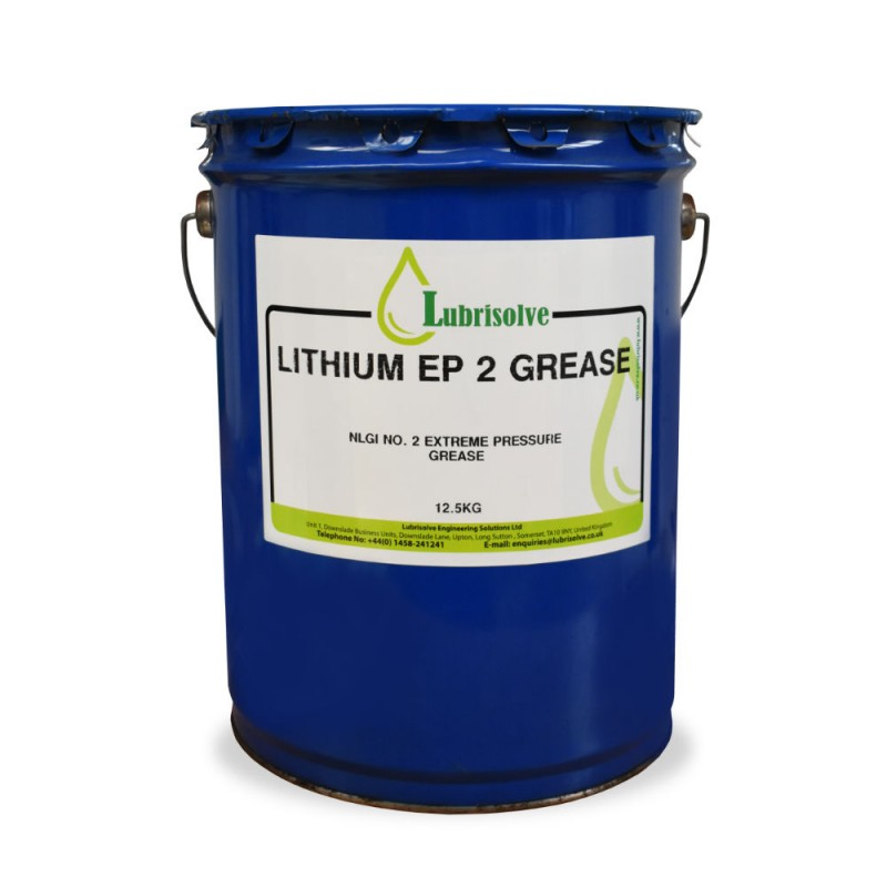 Lubrisolve Lithium EP2 Grease 12.5kg