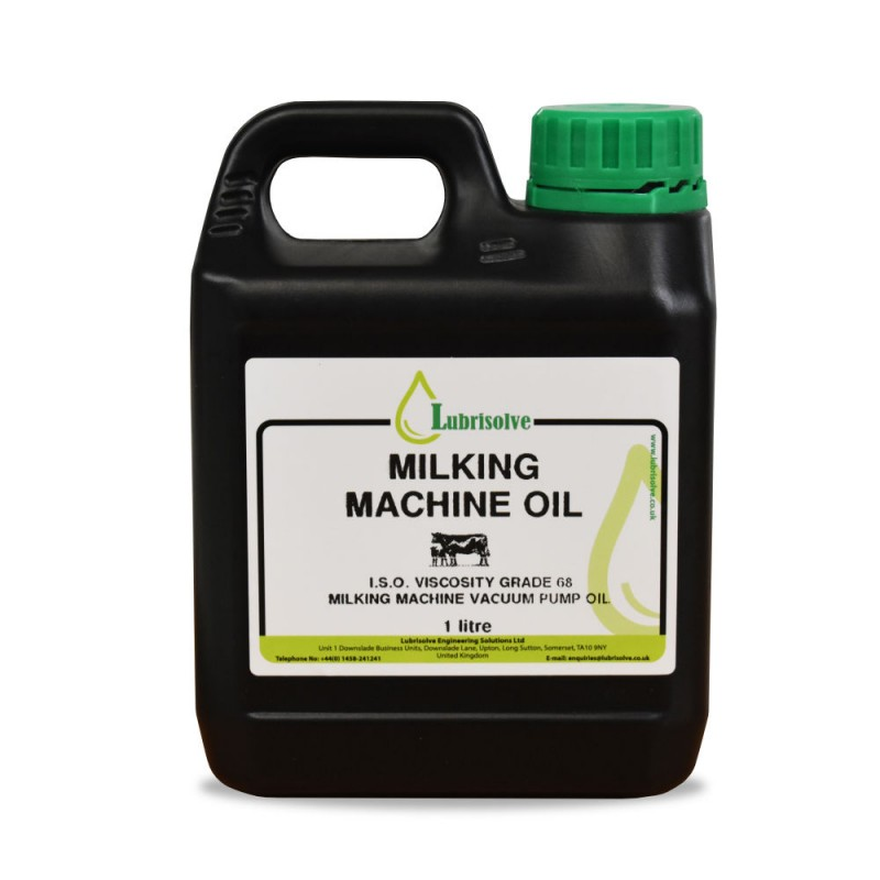 Lubrisolve Milking Machine Oil 1 litre