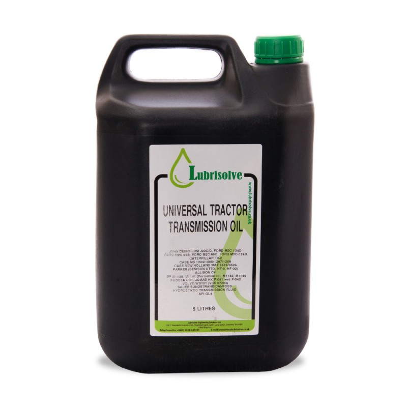 Lubrisolve Universal Tractor and Transmission Oil (UTTO) 5 litres